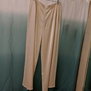 St John Satin Wide Leg Pants